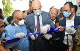 محافظ تعز يفتتح مركز العزل الصحي لمواجهة كورونا في المحافظة