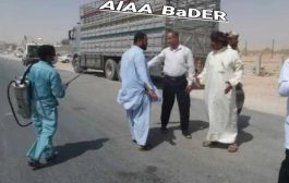 حالة اشتباه بفيروس كورونا بسائق باكستاني… السلطة المحلية بالمهرة تغلق منفذ شحن