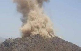 تفجير قلعة أثرية في حجة..ووزارة الثقافة تدين