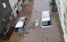 تضرر 148 ألف شخص باليمن جراء السيول