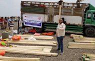 منظمة محلية تتدخل لإنقاذ 700 اسرة نازحة ومنسية تعيش في العراء في تعز