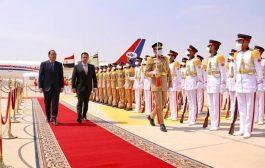 عاجل: رئيس الوزراء يصل الى القاهرة في زيارة رسمية تلبية لدعوة نظيره المصري