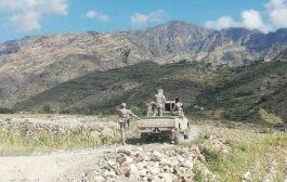 منع الشمساني من الوصول الى مقر اللواء 35 مدرع واشتباكات بجبل بيحان