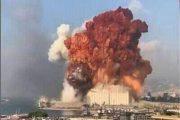 سقوط مدنيين بانفجار ضخم في مرفأ بيروت وسط العاصمة اللبنانية