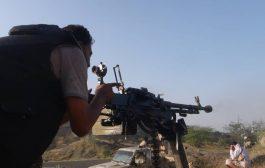 مصرع 2 من مسلحي الحوثي في إحباط عملية تسلل على قطاع الفاخر بالضالع