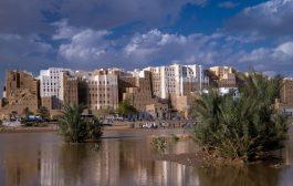 اليمن : الأمطار خلفت أضرار بالغة في العشرات من المباني الأثرية