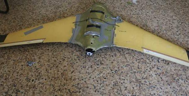 الجيش الوطني يسقط طائرة مسيرة حوثية جنوبي تعز