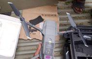 قوات اللواء الرابع حزم بالقبيطة تضبط أجهزة وطيران مسير (صور)