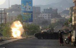 الجيش الوطني يتقدم شمال مدينة تعز وسط قصف حوثي على الأحياء السكنية