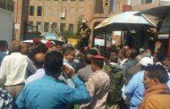 قائد شرطة الدوريات يقتحم مكتب المالية ويعتدي على الموظفين
