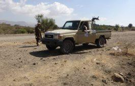 القوات الحكومية تحبط محاولات تسلل لمليشيا الحوثي في جبهة الحشاء بالضالع