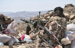 قوات الجيش تستعيد مواقع جديدة غربي تعز