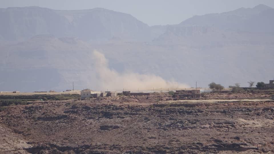 القوات المشتركة تحبط عملية تسلل للحوثيين شمال الضالع
