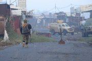 القوات المشتركة تسيطر على اجزاء من سوق الفاخر بالضالع
