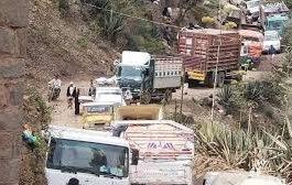 انقطاع الطرقات في اليمن يخلق معاناة مضاعفة للمسافرين