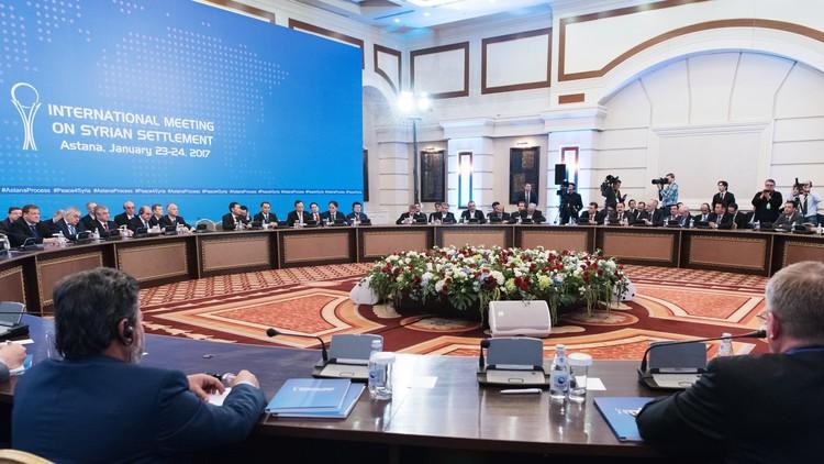 استئناف المفاوضات في استانا فيما بين المعارضة والحكومة السورية