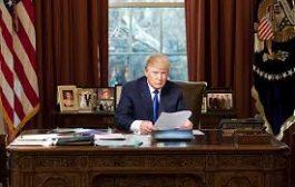دونالد ترامب في البيت الأبيض