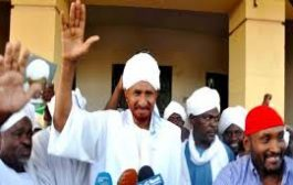 عودة الزعيم السوداني المعارض الصادق المهدي الى الخرطوم