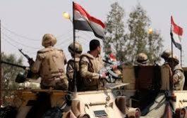 موت 18 مسلحا في سيناء من قبل الجيش المصري