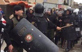عدد كبير من الجرحئ  بعد قمع احتجاجات على محاكمة الأعرج