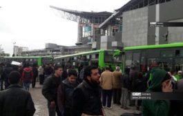 نقل الدفعة الثالثة من مهجري حي الوعر بحمص