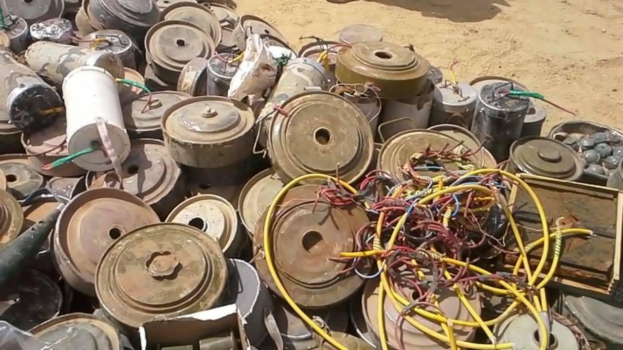 إتهامات للحوثيين وصالح باستخدام ألغام محظورة في اليمن