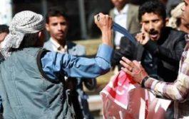 107 إنتهاكا للإنقلابيين  في محافظة  إب  فقط مارس الماضي
