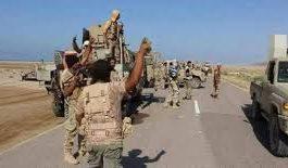 الجيش اليمني يزحف باتجاه معسكر خالد بن الوليد