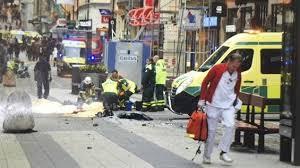 الصور الأولى لعملية الدهس في ستوكهولم