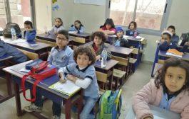 تدشين امتحانات الفصل الدراسي الأول للمرحلة الابتدائية بمدارس اليمن الدولية بالقاهرة للعام الدراسي ٢٠١٩/٢٠١٨م.
