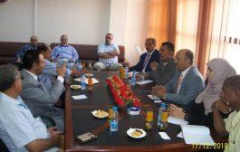 نائب وزير المغتربين يناقش أوضاع التجار المغتربين للإستفادة من خبراتهم