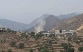 لحج: مليشيات الحوثي تواصل قصفها العشوائي على مديرية القبيطة