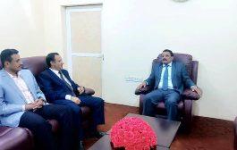 وزير النقل يلتقي نائب وزير شؤون المغتربين لبحث سبل التعاون بين الوزارتين