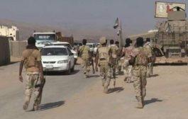 انفجارات عنيفه يعقبها اشتباكات في منطقة الظاهر بشبوه
