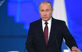 عاجل:بوتين الولايات المتحدة تهدد أمن روسيا والعالم بأكمله