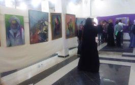 افتتاح معرض تشكيلي في محافظة تعز