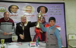 الطفل اليمني معتز الجائفي يحصل على تصنيف دولي