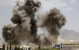 طيران التحالف يشن غارات جديدة على صنعاء وسقوط مدنيين