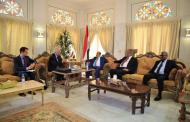 رئاسة مجلس النواب اليمني تلتقي بالسفير الروسي