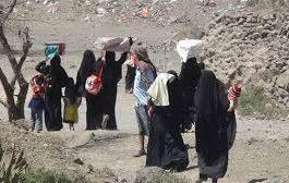الأمم المتحدة تؤكد نزوح تسعة آلاف مواطن جراء المواجهات الأخيرة في نهم ومأرب والجوف