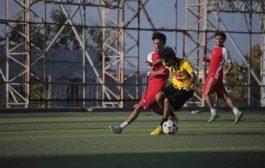 ألاهلي يتغلب على الصقر في افتتاحية البطولة الرمضانية لكرة القدم بتعز