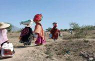 63 ألف أسرة اجبرت على  النزوح بسبب التصعيد الحوثي في مناطق عدة