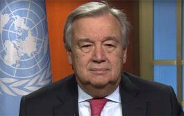 الامين العام للامم المتحدة يبعث رسالة للرئيس هادي (تفاصيل)
