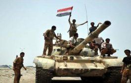 حجة: تقدم جديد لقوات الجيش الوطني