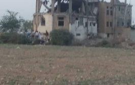 مقتل اسرة بالكامل اغلبهم اطفال في خدير تعز اثر غارة لطيران التحالف العربي.