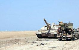 قوات الجيش الوطني تستعيد مواقع جديدة شرقي تعز