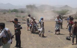 الضالع: المشتركة تتصدى لزحف حوثي وسقوط قتلى وجرحى في صفوف الميليشيا