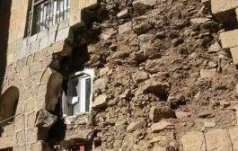 إب : إنهيارات لمنازل المواطنين