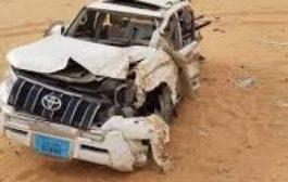 حادث مروري يودي بحياة مواطن واصابة زوجته في خط العبر