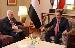 الحكومة اليمنية تؤكد على ضرورة عدم خروج الحل السياسي على المرجعيات الثلاث